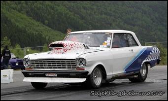 Janne kjører på Valle:)