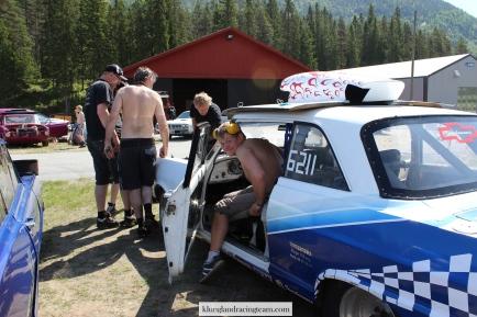 Anders gleder seg til kjøring!