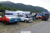 Vi hadde 7 biler på campen. 3 dragstere og 2 som kjørte Stret Legal