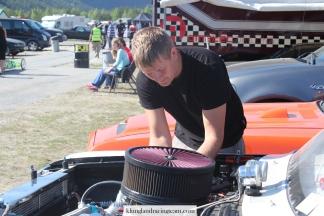 Mekaniker Anders i arbeid